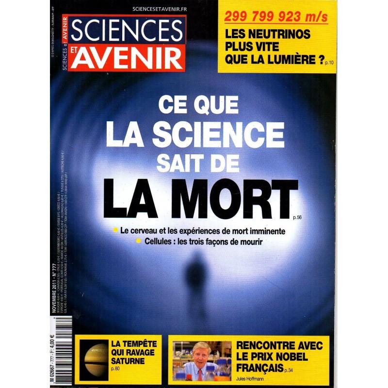 Sciences et Avenir n° 777 - Ce que la science sait de La Mort