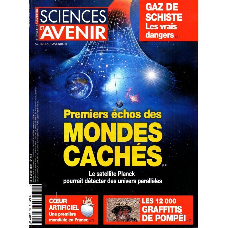 Sciences et Avenir n° 778 - Premier échos des Mondes Cachés