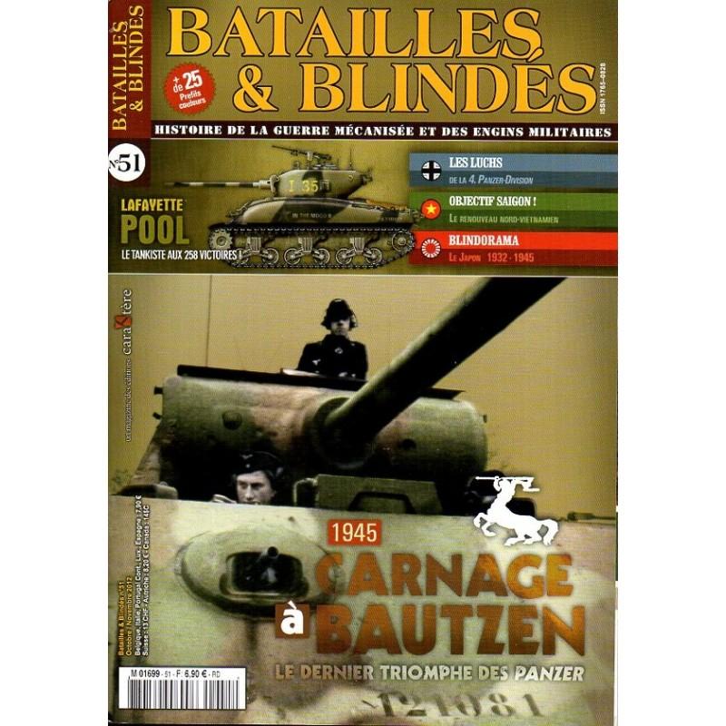 Batailles & Blindés n° 51 - 1945, Carnage à Bautzen - Le dernier triomphe des panzer