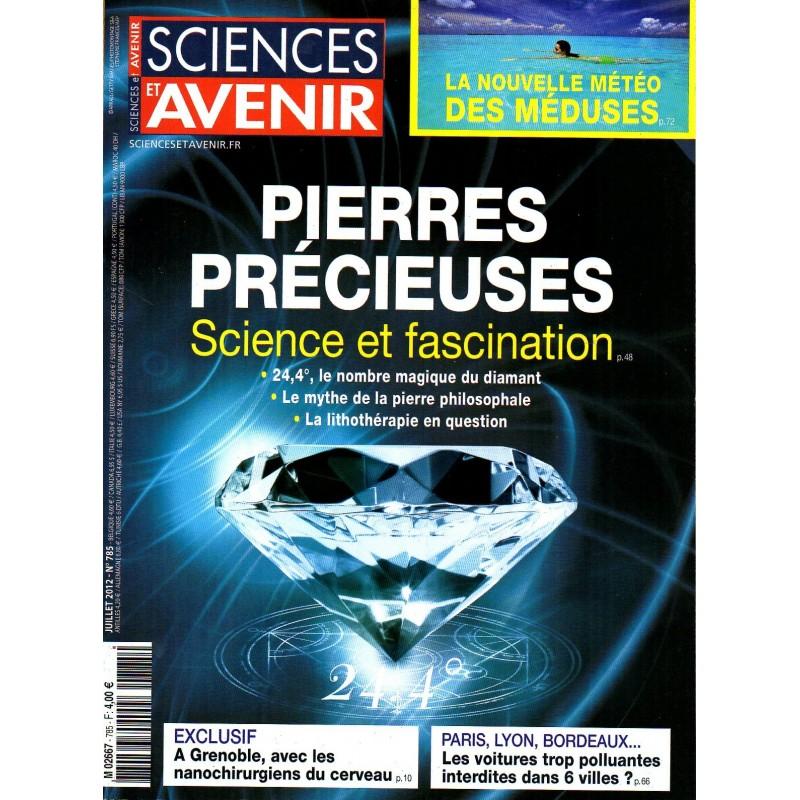Sciences et Avenir n° 785 - Pierres précieuses, Science et fascination