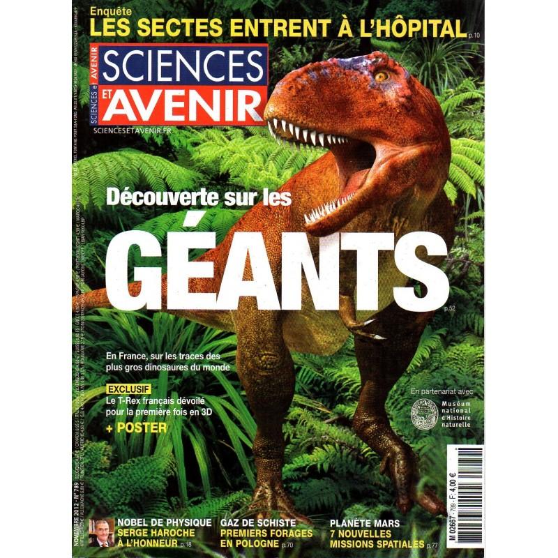 Sciences et Avenir n° 789 - Découverte sur les GÉANTS