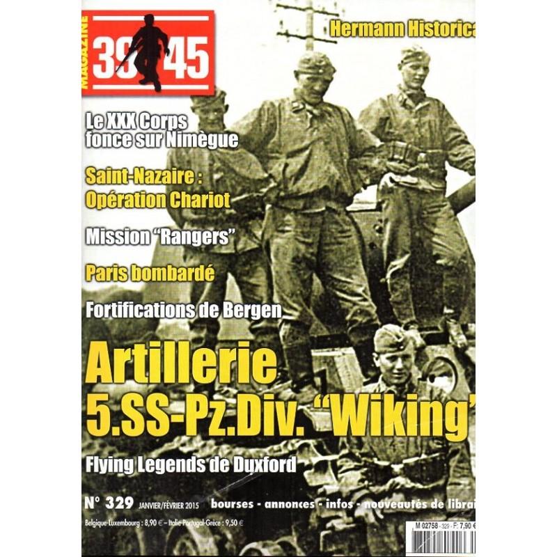 """Magazine 39-45  n° 329 - Artillerie 5.SS-Pz.Div.""""Wiking"""""""