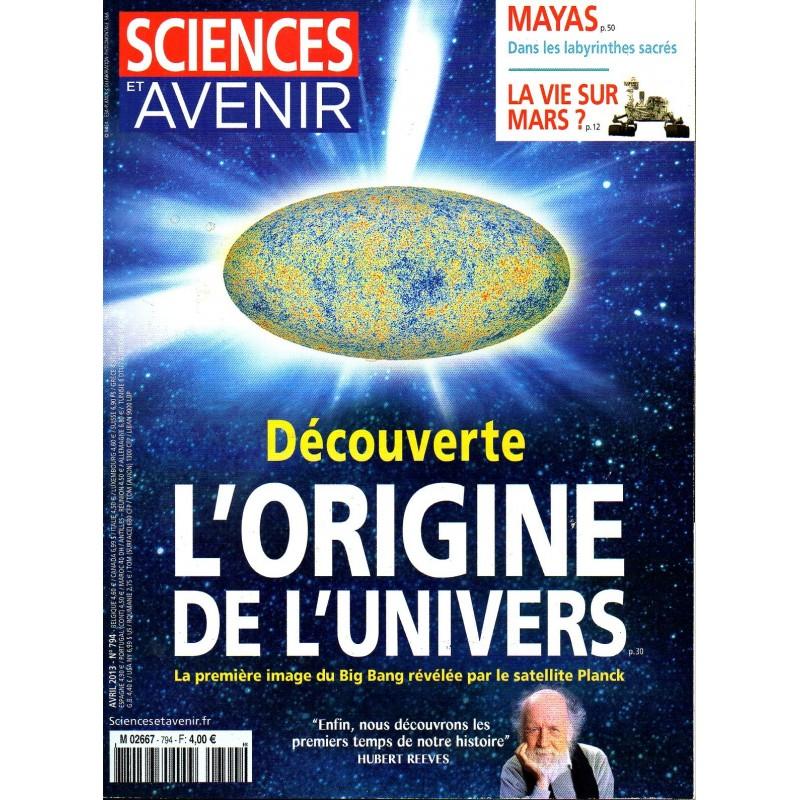 Sciences et Avenir n° 794 - Découverte : L'origine de l'Univers