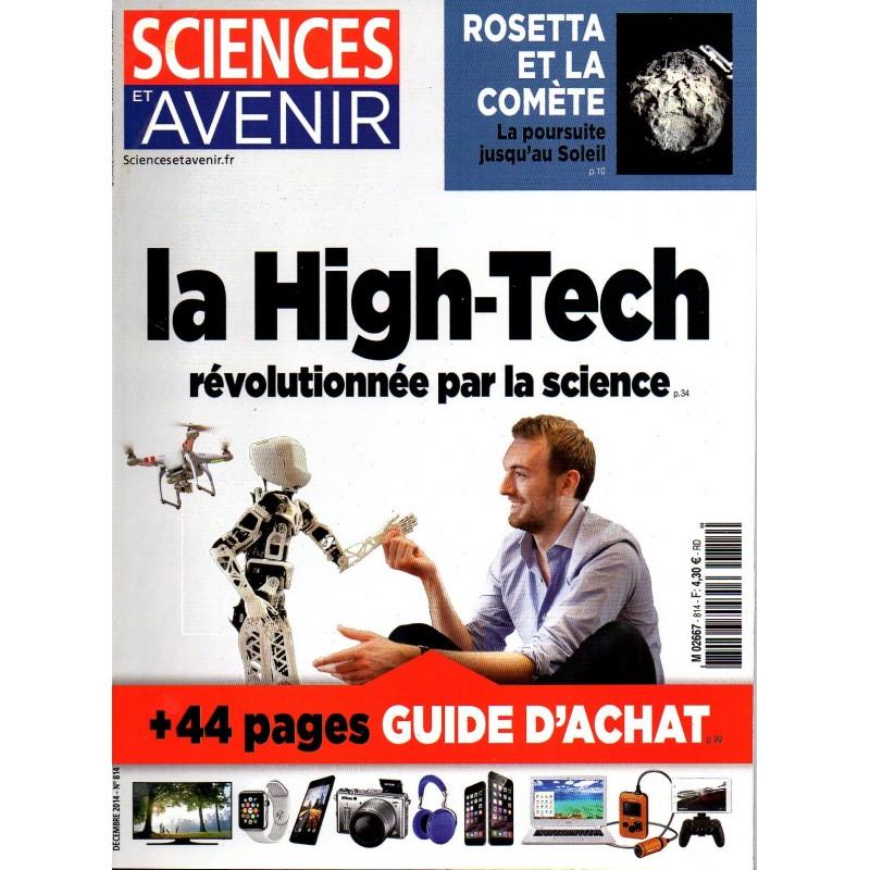 Sciences et Avenir n° 814 - La High-Tech révolutionne la science