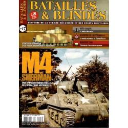 Batailles & Blindés n° 47 - M4 Sherman, une approche industrielle des opérations mécanisées