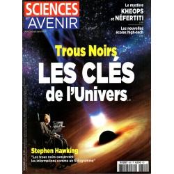 Sciences et Avenir n° 825 - Trous Noirs, les clés de l'Univers