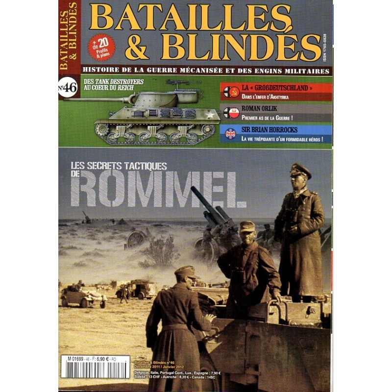 Batailles & Blindés n° 46 - Les secrets tactiques de ROMMEL