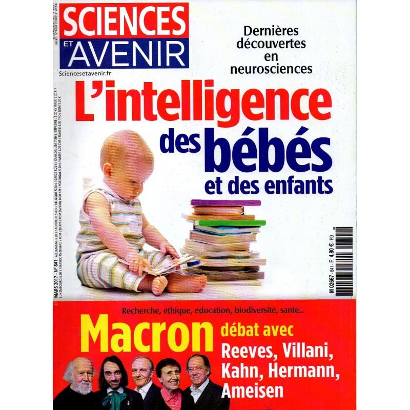 Sciences et Avenir n° 841 - L'intelligence des bébés et des enfants