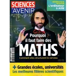 Sciences et Avenir n° 840 - Pourquoi il faut faire des Maths, comment elles structurent le cerveau