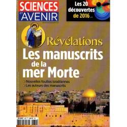 Sciences et Avenir n° 839 - Révélations, les Manuscrits de la Mer Morte