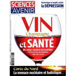 Sciences et Avenir n° 848S - Vin, Champagne et santé