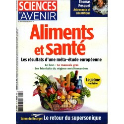 Sciences et Avenir n° 844 - Aliments et Santé, les résultats d'une méta-étude européenne