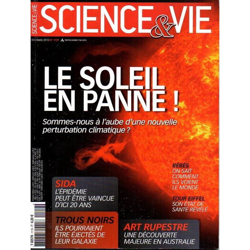 Science & Vie n° 1119 - Le Soleil en Panne !