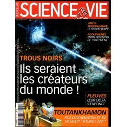 Science & Vie n° 1111 - Trous noirs : ils seraient les créateurs du monde !