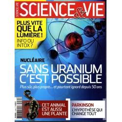 Science & Vie n° 1130 - Nucléaire : sans uranium c'est possible