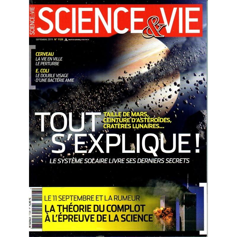 Science & Vie n° 1128 - Tout s'explique ! Taille de Mars, Ceinture d'astéroïdes...