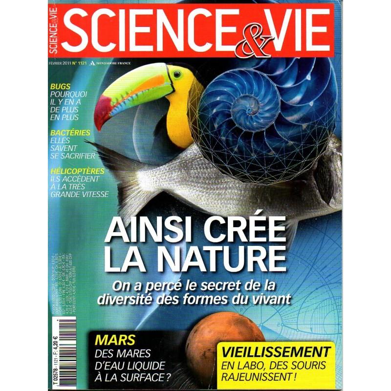 Science & Vie n° 1121 - Ainsi crée la nature : on a percé le secret de la diversité des formes du du vivant