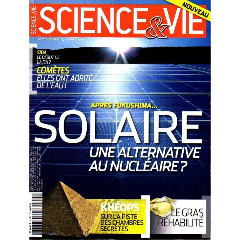 Science & Vie n° 1125 - Après Fukushima... Solaire une alternative au nucléaire ?