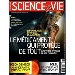 Science & Vie n° 1143 - Le médicament qui protège de tout, l'incroyable promesse de trois molécules