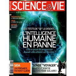 "Science & Vie n° 1135 - Les tests de ""QI"" le disent ... l'intelligence humaine en panne"