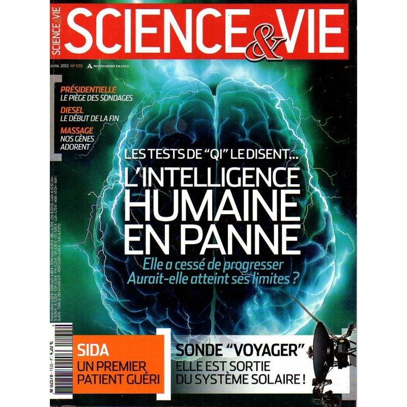 """Science & Vie n° 1135 - Les tests de """"QI"""" le disent ... l'intelligence humaine en panne"""
