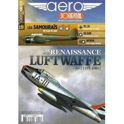 Aéro journal n° 19 - La Renaissance de la Luftwaffe (1955-1965)