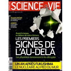 Science & Vie n° 1134 - Les premiers signes de l'Au-delà