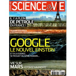 Science & Vie n° 1138 - Google, le nouvel Einstein