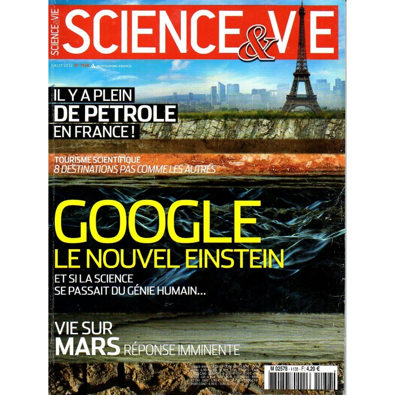 Science & Vie n° 1138 - Google, le nouvel Einstein
