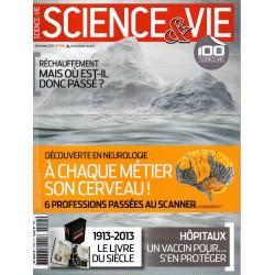 Science & Vie n° 1155 - Découverte en neurologie : à chaque métier son cerveau !