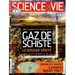 Science & Vie n° 1148 - Gaz de schiste, le dossier vérité