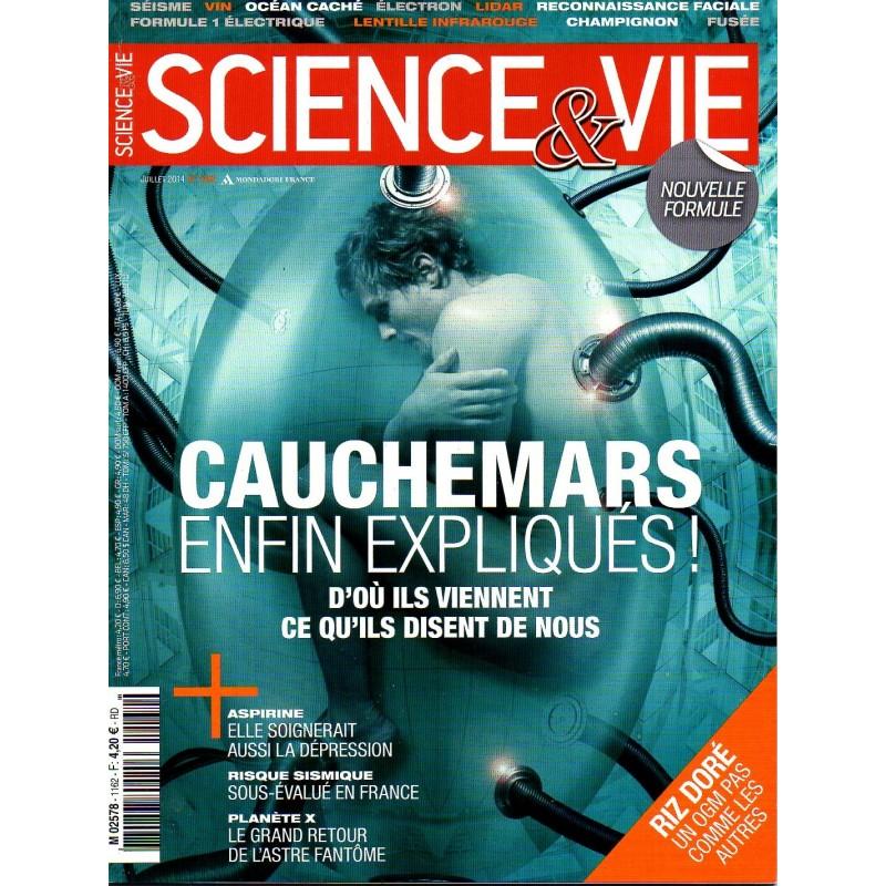 Science & Vie n° 1162 - Cauchemars enfin expliqués ! d'où ils viennent, ce qu'ils disent de nous