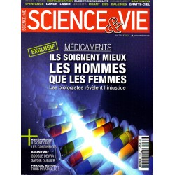 Science & Vie n° 1163 - Médicaments : Ils soignent mieux les hommes que les femmes