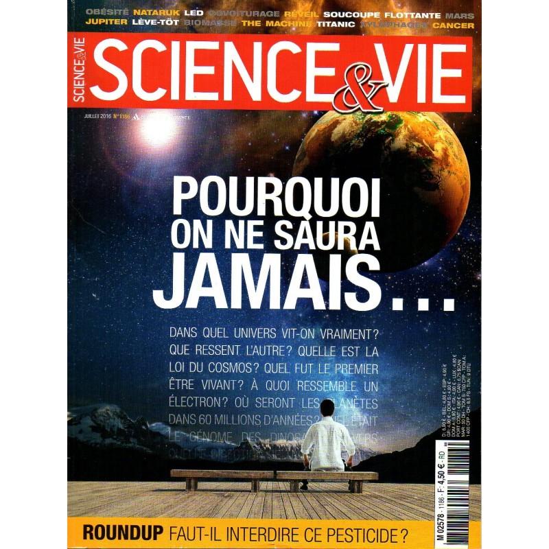 Science & Vie n° 1186 - Pourquoi on ne saura jamais...