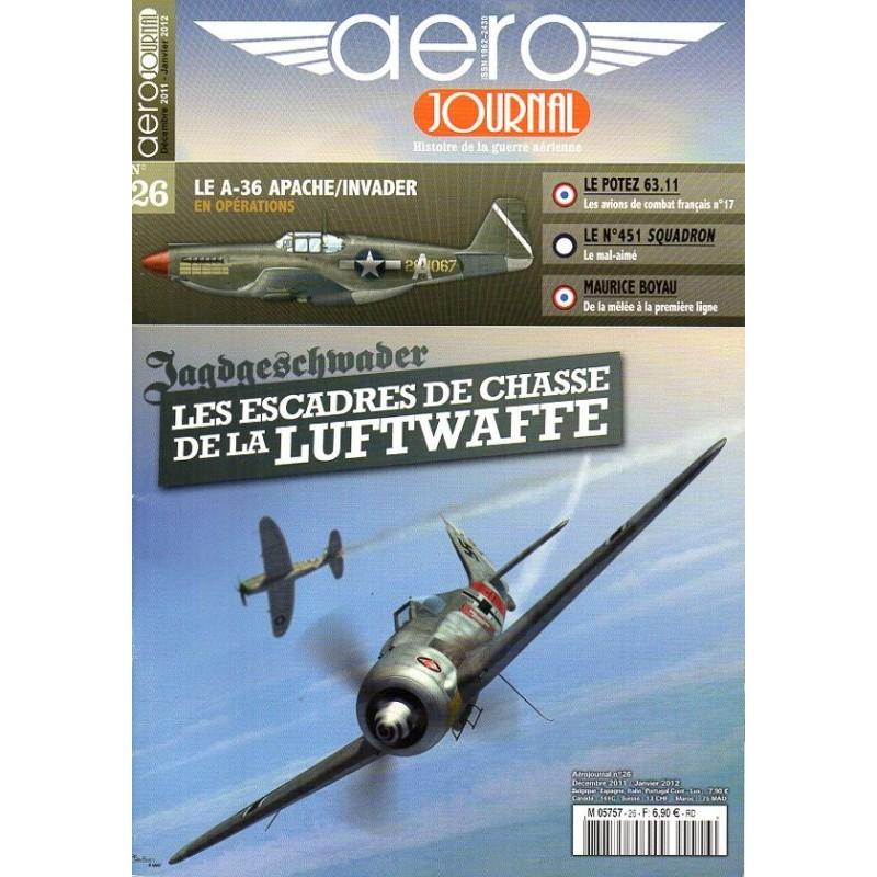 Aéro journal n° 26 - Les Escadres de chasse de la Luftwaffe