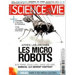 Science & Vie n° 1185 - Après les drones, les micro robots