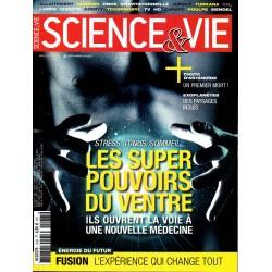 Science & Vie n° 1183 - Les super pouvoirs du ventre