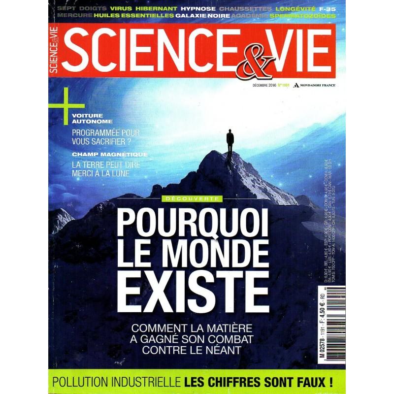 Science & Vie n° 1191 - Découverte : pourquoi le monde existe. Comment la matière a gagné son combat contre le néant
