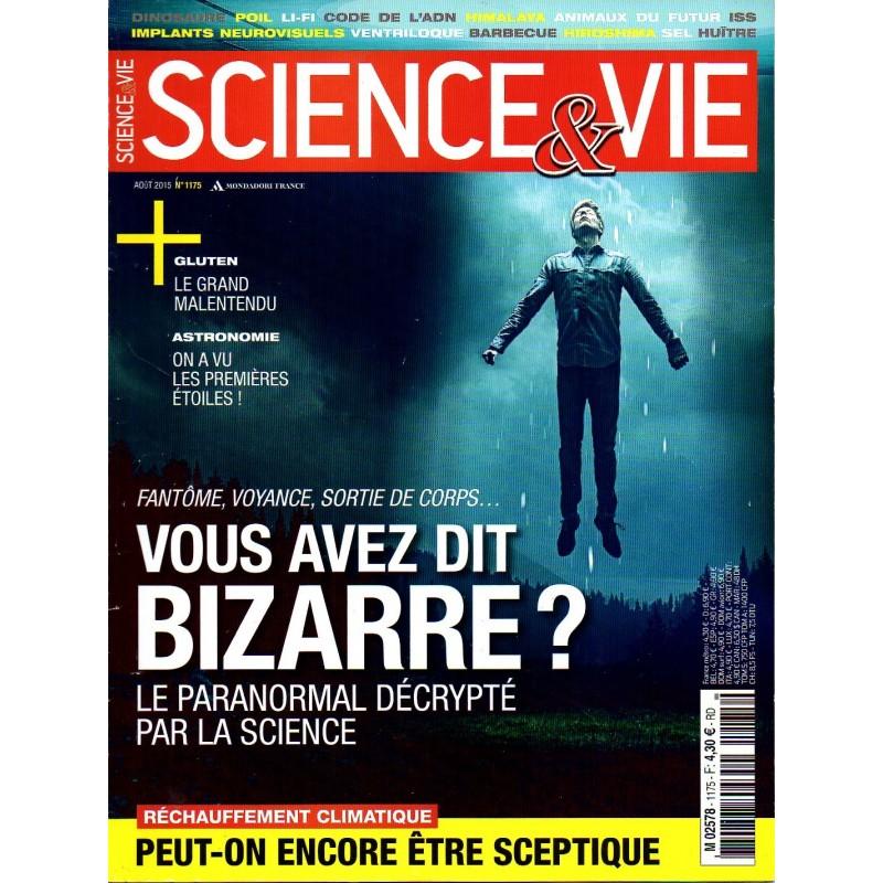 Science & Vie n° 1175 - Fantôme, voyance, sortie du corps... Le paranormal décrypté par la science