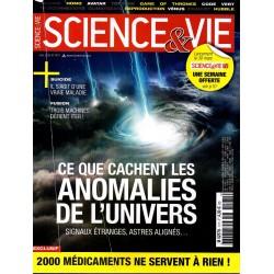 Science & Vie n° 1171 - Ce que cachent les anomalies de l'Univers