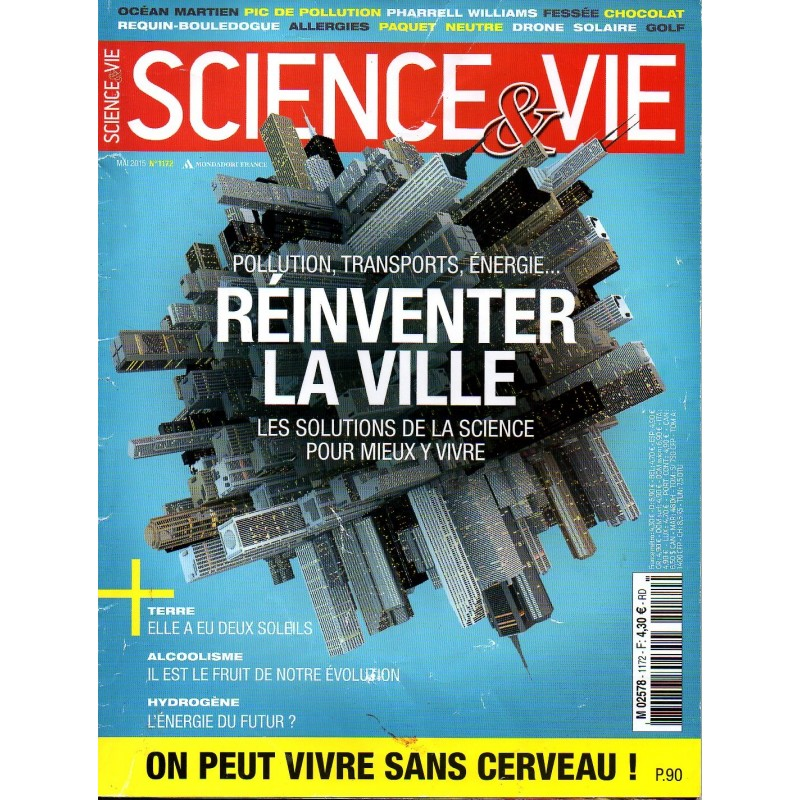 Science & Vie n° 1172 - Pollution, Transports, Énergie, Réinventer la ville