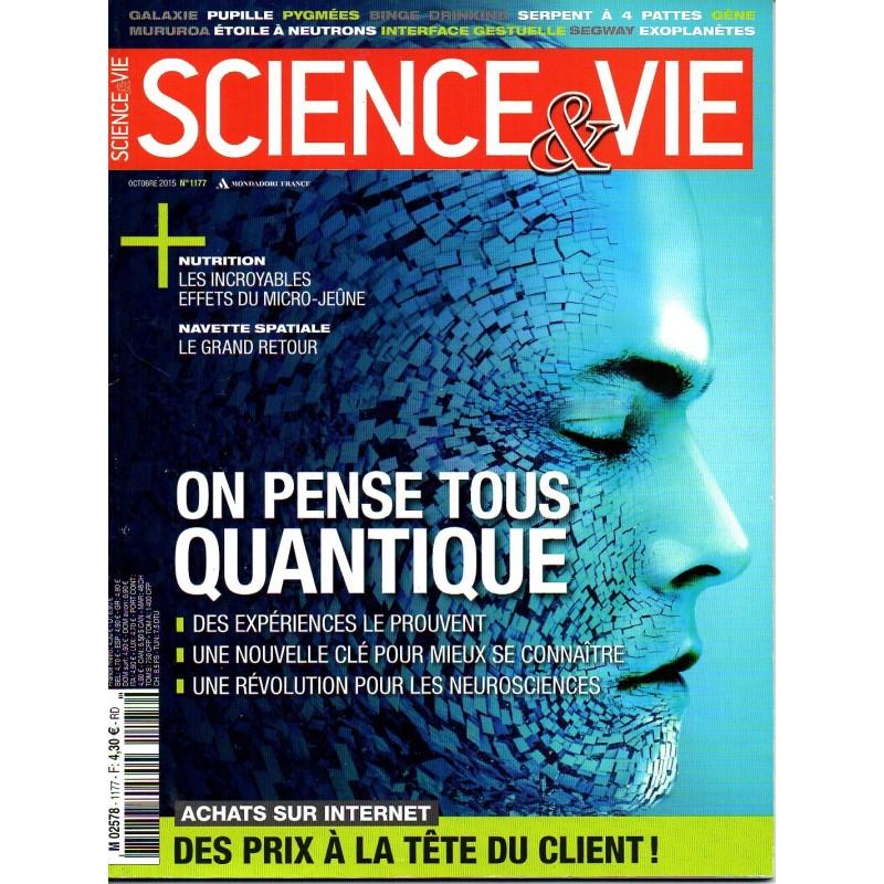 Science & Vie n° 1177 - On pense tous quantique