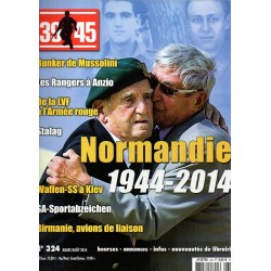 Magazine 39-45  n° 324 - Normandie 1944-2014