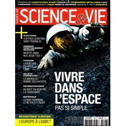 Science & Vie n° 1196 - Vivre dans l'espace, pas si simple...
