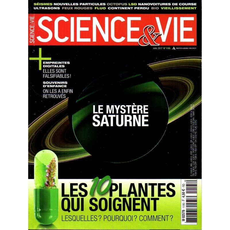 Science & Vie n° 1195 - Le mystère Saturne - les 10 plantes qui soignent