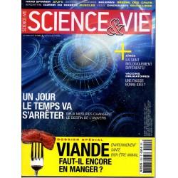 Science & Vie n° 1200 - Un jour le temps va s'arrêter - Viande : faut-il encore en manger ?