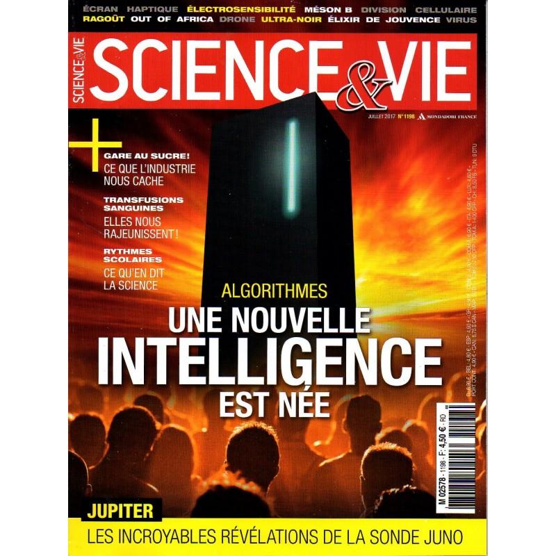 Science & Vie n° 1198 - Algorithmes, une nouvelle intelligence est née