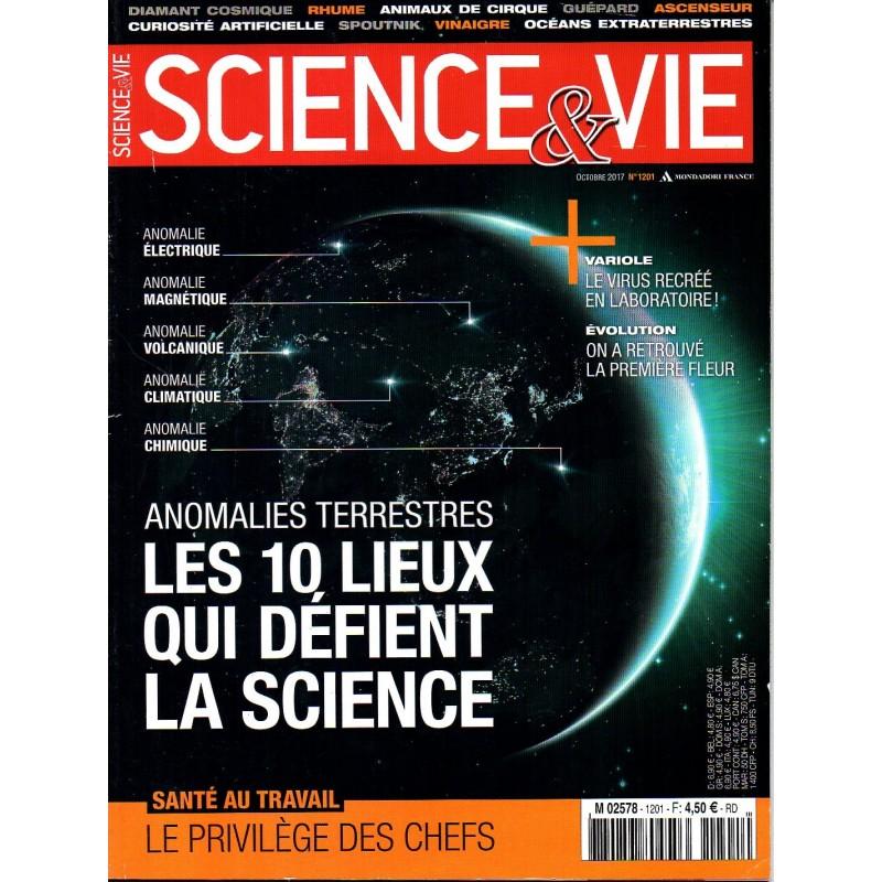 Science & Vie n° 1201 - Anomalies terrestres, les 10 lieux qui défient la science