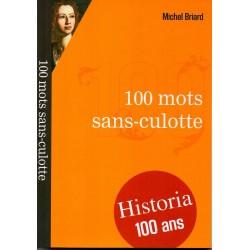 100 mots sans-culottes - Michel Briard