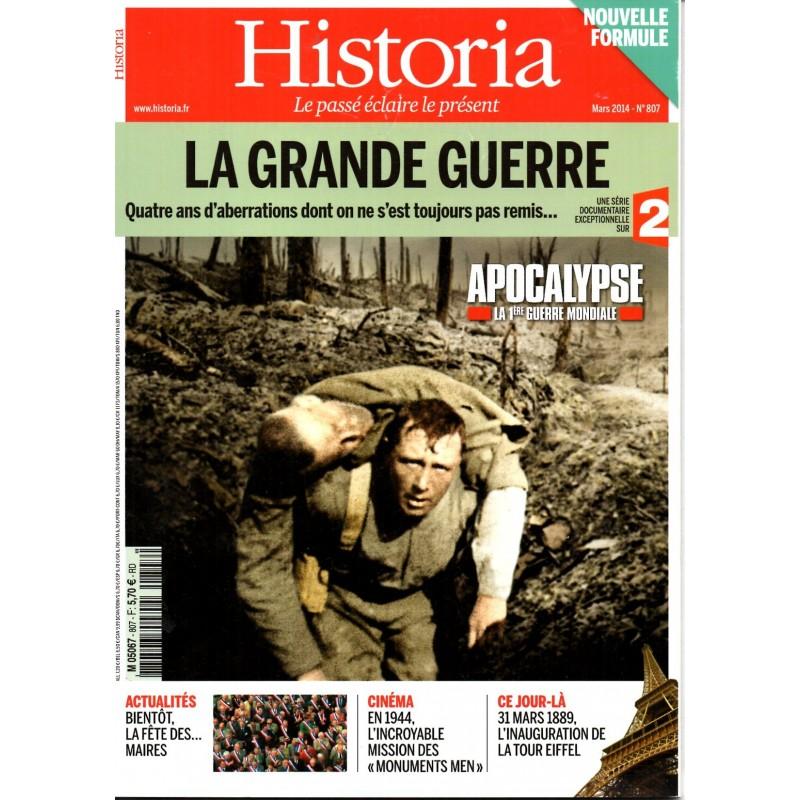 Historia n° 807 - La Grande Guerre, quatre ans d'aberrations dont on ne s'est toujours remis...